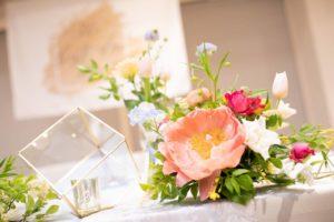 お花もこだわりがあったとの事。とても綺麗です!